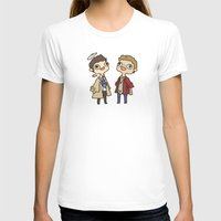 destiel T-shirts featuring Destiel 2 by PrettyOddChild
