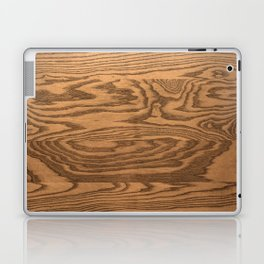 Wood 5, heavily grained wood Horizontal grain Laptop & iPad Skin