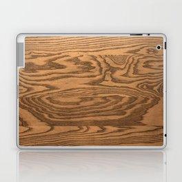 Wood 5, heavily grained wood Horizontal grain Laptop & iPad Skin