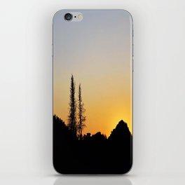 Wasatch Sunset iPhone Skin