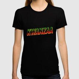 Kwanzaa Black Heritage Holiday African American T-shirt