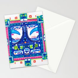 A Blue Night Stationery Cards
