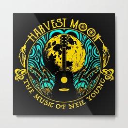 neil young harvest moon guitar Metal Print
