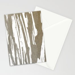 Abstract Taupe Splash Design Stationery Cards