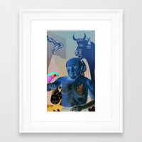 picasso Framed Art Prints featuring Picasso by Matthew Lake