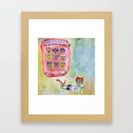 Sadie Hawkins Framed Art Print