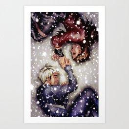 Sokovian Snowfall Art Print