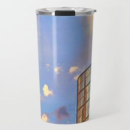Minimalist Skyline Travel Mug