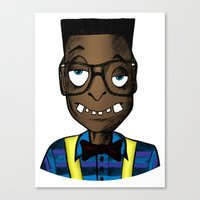 nerd Canvas Prints featuring Nerd by DeMoose_Art