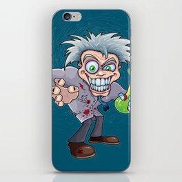 Mad Scientist iPhone Skin