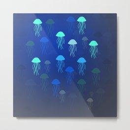 Jellyfish Dance Metal Print