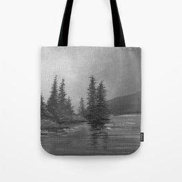 Grey Sky Morning Tote Bag