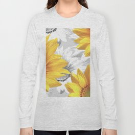 Sunflower Bouquet #decor #society6 #buyart Long Sleeve T-shirt