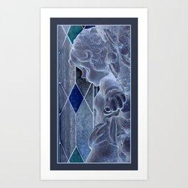 A Cherub's Kiss Art Print