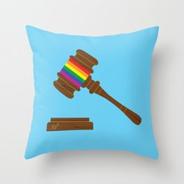 The Equal Protection Clause Does Not Require States To License Same-Sex Marriages Throw Pillow