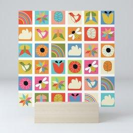 Nature Quilt Mini Art Print