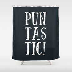 Puntastic! Shower Curtain