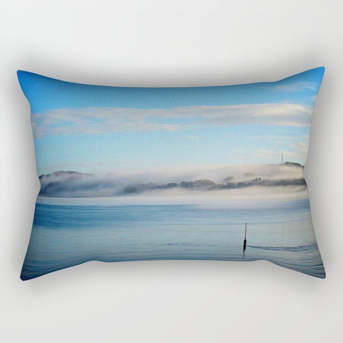 Fog rolling in... Rectangular Pillow