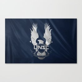 Halo UNSC Canvas Print