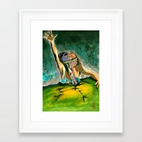 evil dead Framed Art Prints featuring Evil Dead by Mike
