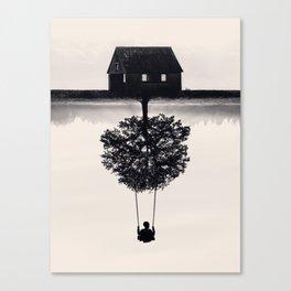 Drift Away (b&w) Canvas Print