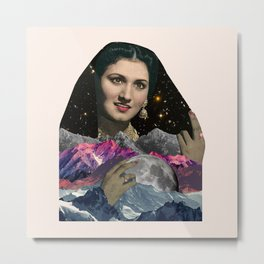 Moonlit Nights Metal Print