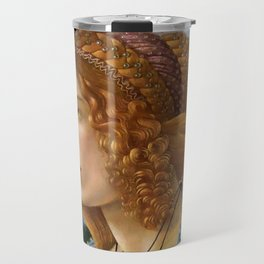 "Sandro Botticelli ""Allegorical Portrait of a Lady (Simonetta Vespucci ?)"" Travel Mug"