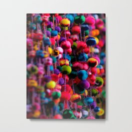 Color Fluffs Metal Print