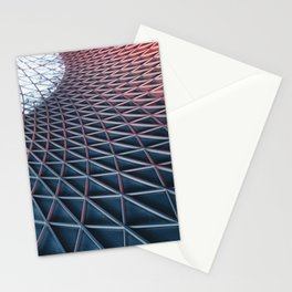 Ceiling pattern Stationery Cards