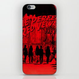 """The Perfect Red Velvet """"Bad Boy"""" iPhone Skin"""