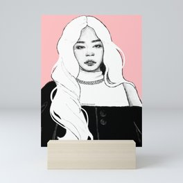 KILL THIS LOVE - Jennie Mini Art Print