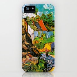 Vincent Van Gogh - House in Auvers iPhone Case