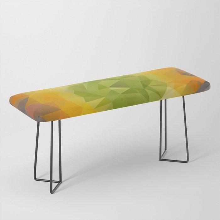 Cactus art Bench