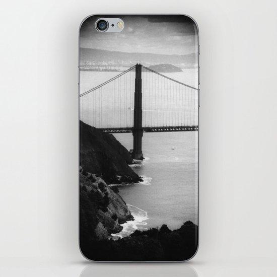 Old-timey Golden Gate Bridge iPhone & iPod Skin