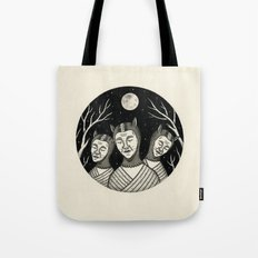 Trio of Narcoleptic Cats Tote Bag