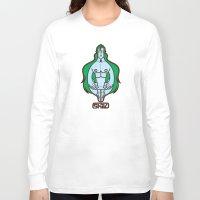 shiva Long Sleeve T-shirts featuring Shiva II by Tshirtbaba