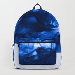 Blue Dye Cloud (Color) Backpack