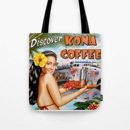 Discover Kona Coffee Tote Bag