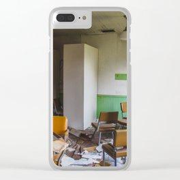 School, Arena, North Dakota 7 Clear iPhone Case