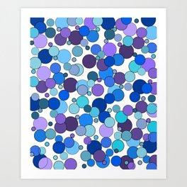 Dot to Dot Art Print