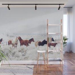 Winter Horseland Wall Mural