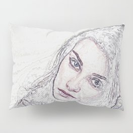 Pensive Mood Pillow Sham