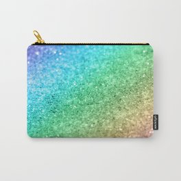 Rainbow Princess Glitter #1 (Photography) #shiny #decor #art #society6 Carry-All Pouch