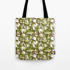 Fresh summer leaves Tote Bag