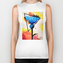 Cornflower Catch Biker Tank