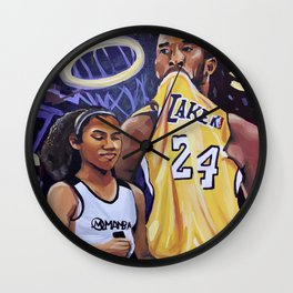 Mamba Wall Clock