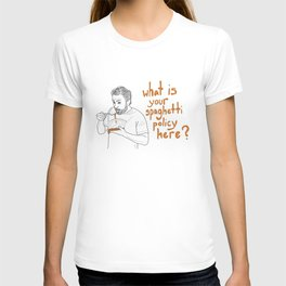 Charlie Kelly - Spaghetti Policy T-shirt