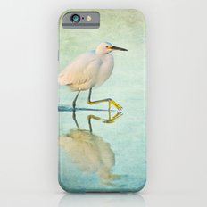 Snowy Egret iPhone 6s Slim Case