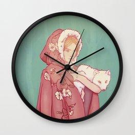 Arctic Lady Wall Clock