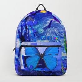 No Way No How < The NO Series (Blue) Backpack
